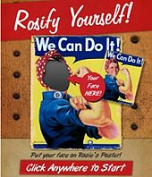 """The """"We Can Do It!"""" poster was used by the Ad Council for its 70th anniversary celebration."""